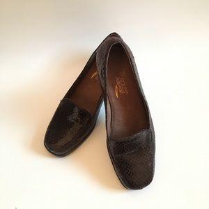 Aerosoles Heelrest Brown Shoes Size 8M